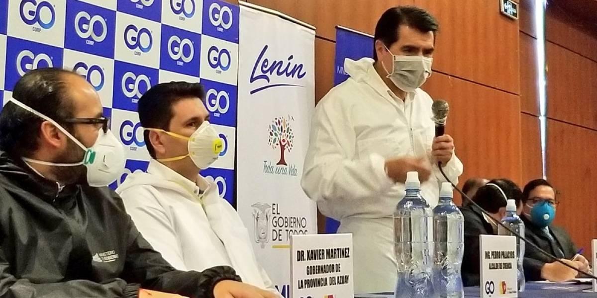 Grupo Empresarial Ortiz dona 30 respiradores mecánicos en Azuay