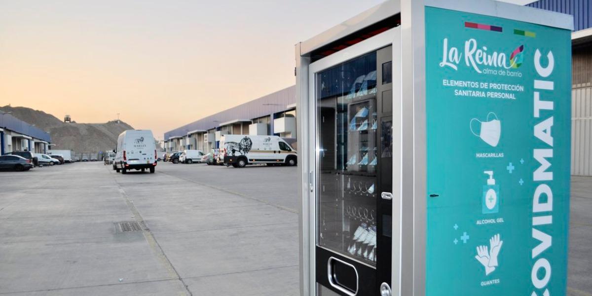 CovidMatic: se instalan en Chile las primeras máquinas de máscaras, gel y guantes