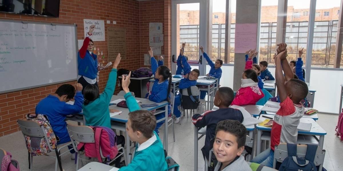 Hay 46.000 cupos en colegios públicos de Bogotá