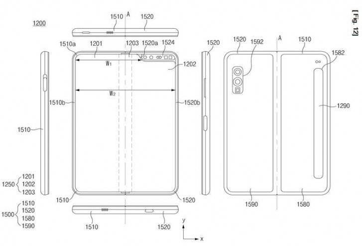 Patente del posible Samsung Galaxy Fold 2