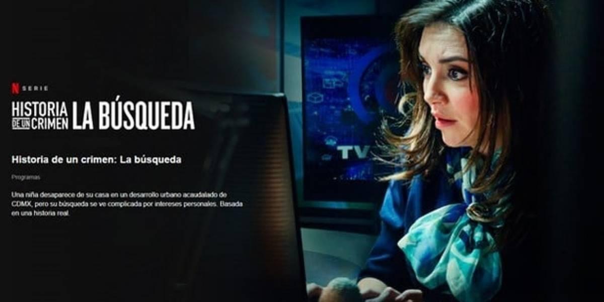 Netflix: Caso de la niña Paulette será llevado a una temporada de la serie 'Historia de un Crimen'