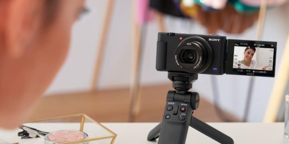 Sony presentó una nueva cámara especial para quienes producen contenido en redes sociales