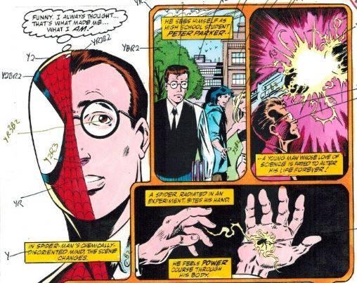 Origen de Spider-Man