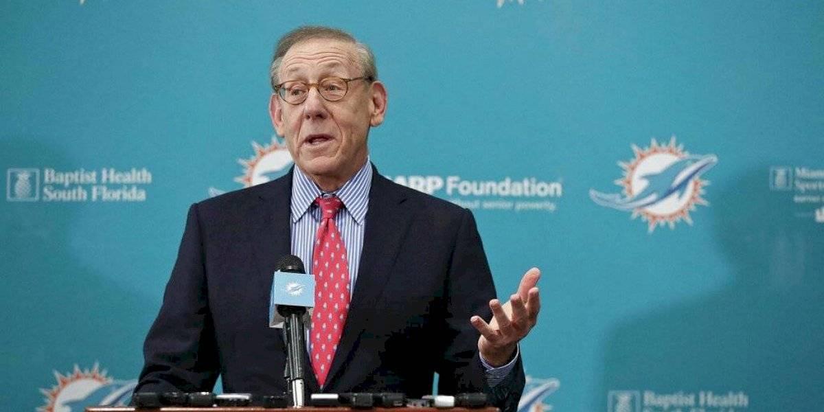 Dueño de los Dolphins confía habrá temporada de NFL