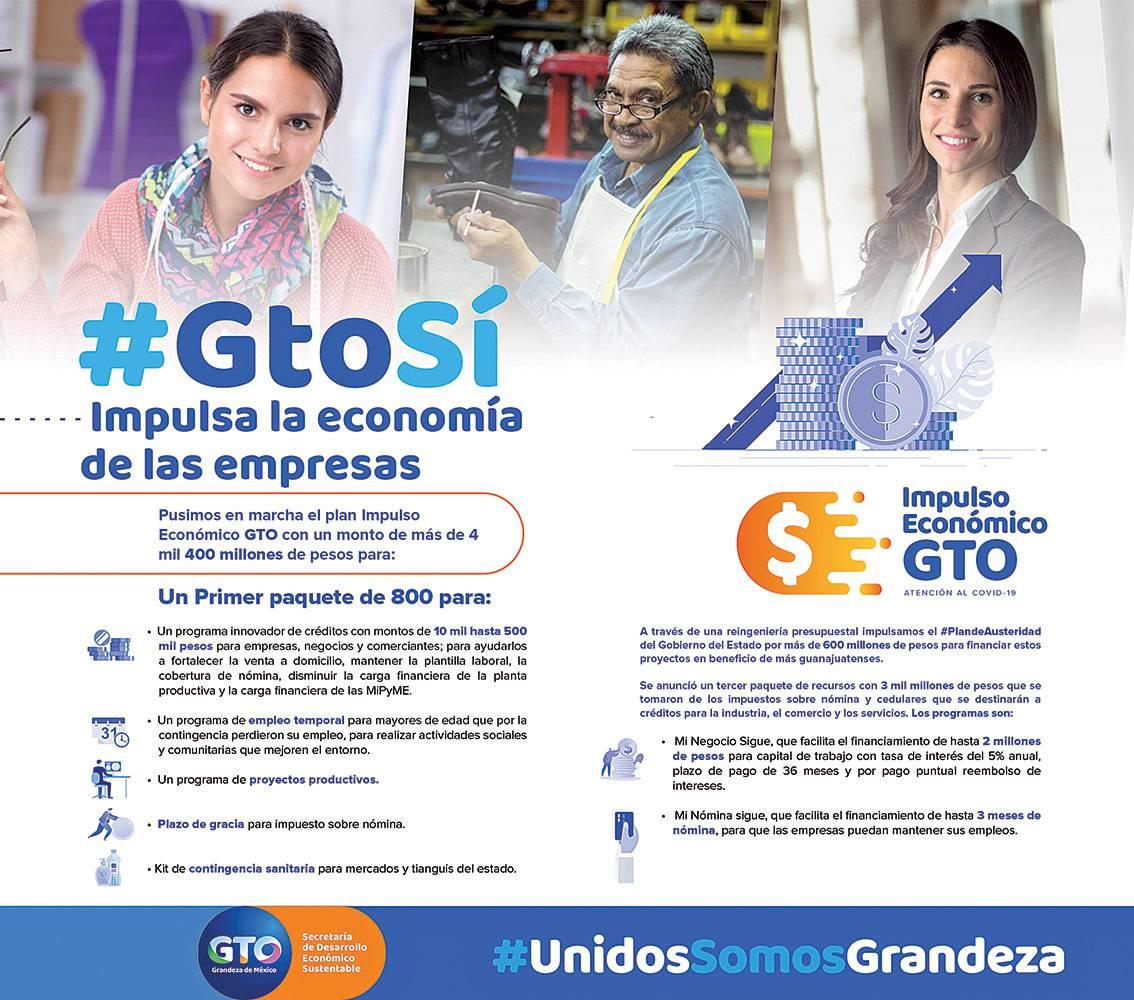 Anuncio Gobierno de Guanajuato edición León del 27 de mayo del 2020, Página 07