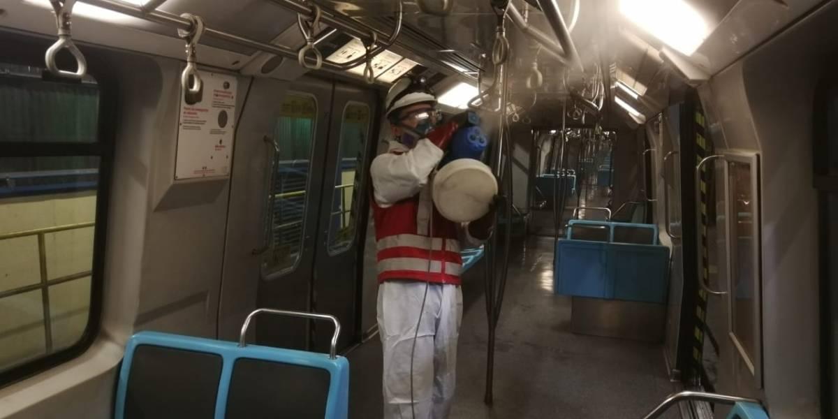 La nueva sanitización de Metro con biotecnología
