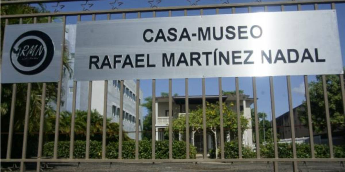 A la venta museo en honor a Rafael Martínez Nadal