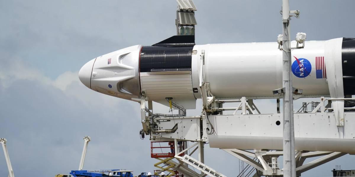 Hoy, el segundo intento del histórico lanzamiento espacial de SpaceX
