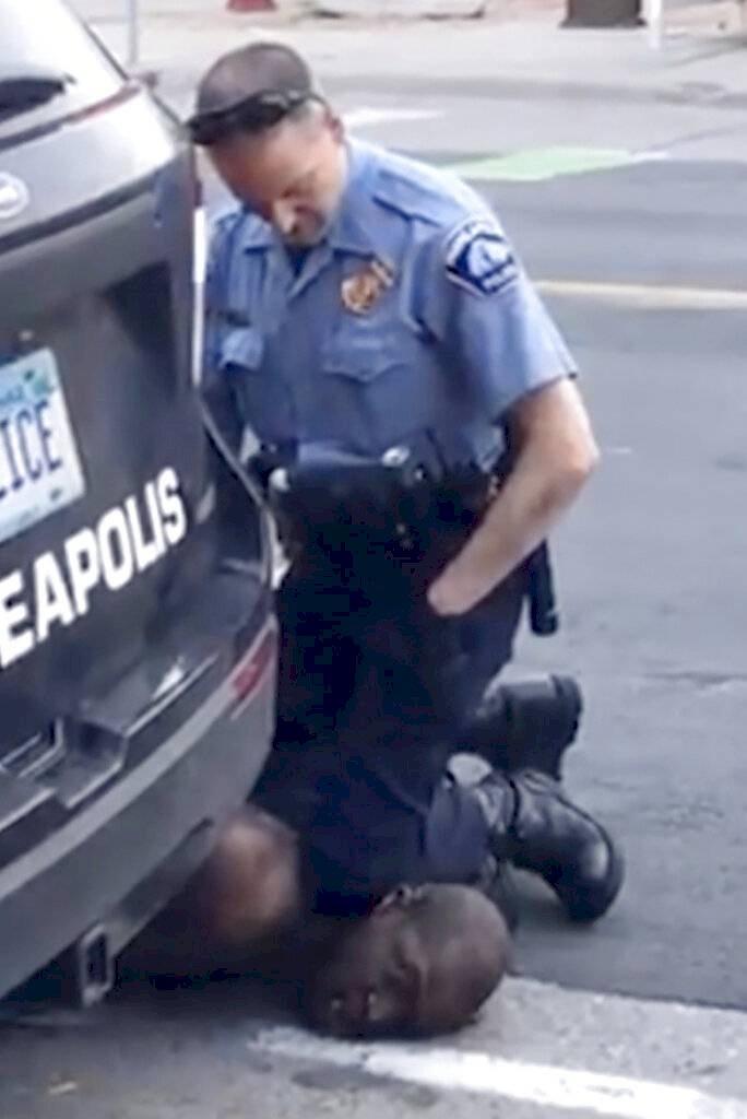 policía blanco asesinato negro