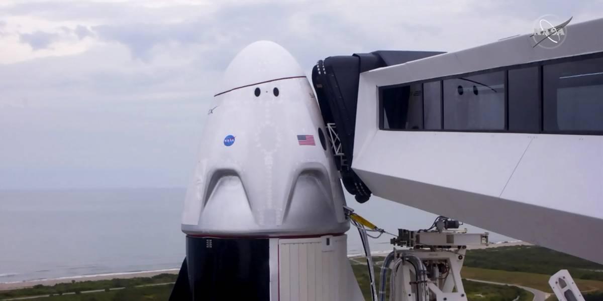 La nave Crew Dragon llega a la Estación Espacial Internacional