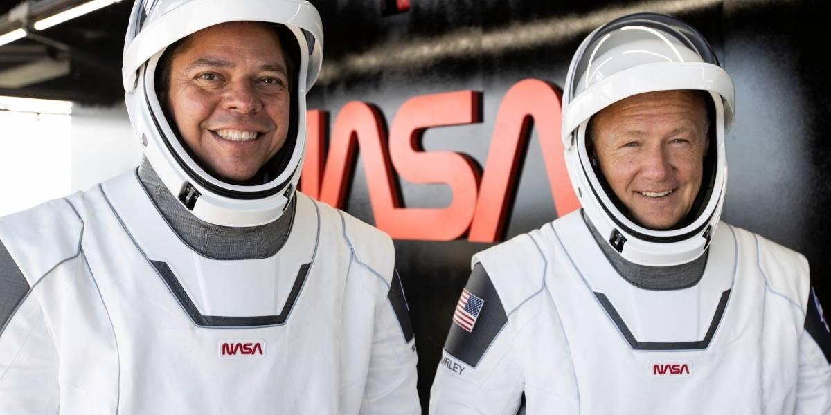 Video: NASA regresa a astronautas de SpaceX y los lanza al océano cerca del Huracán Isaías