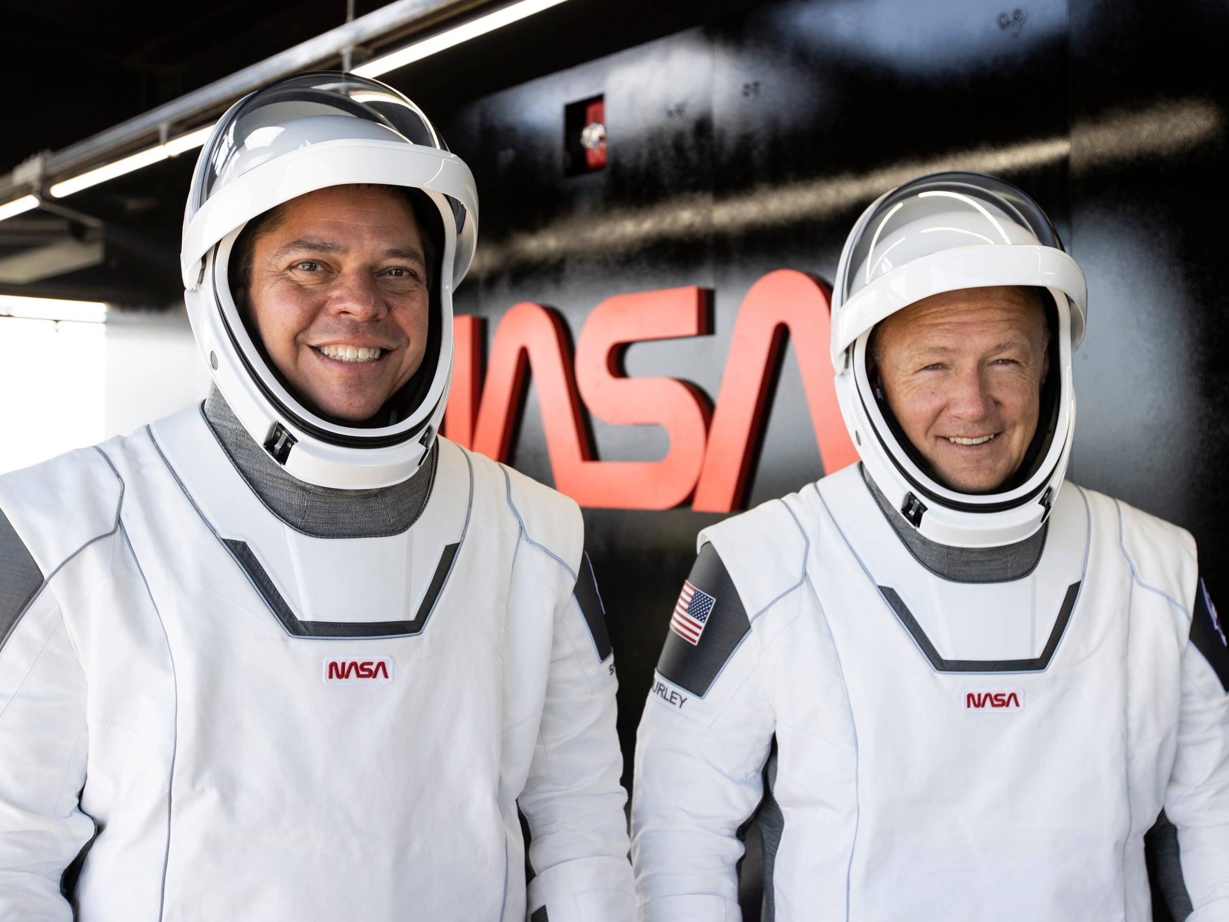 astronautas spacex nasa