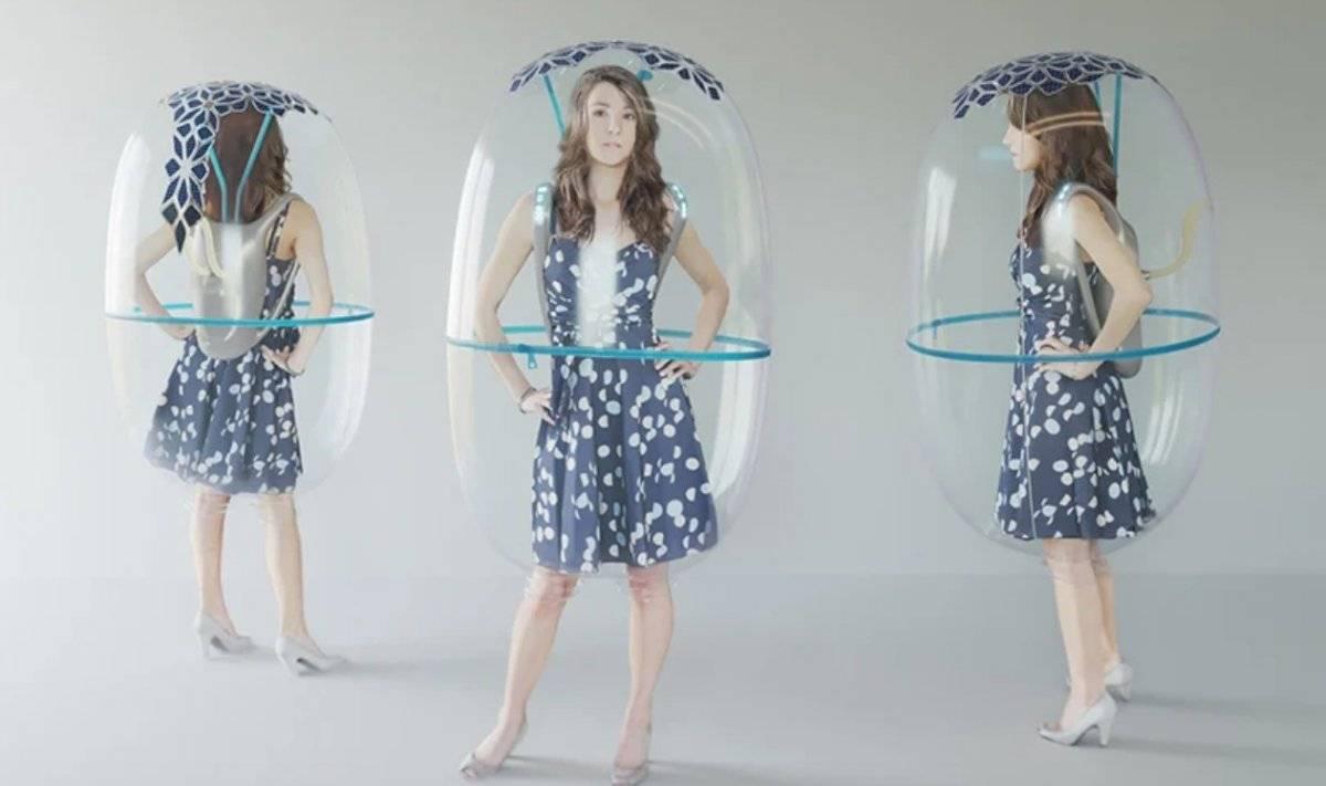 Escudo de burbujas
