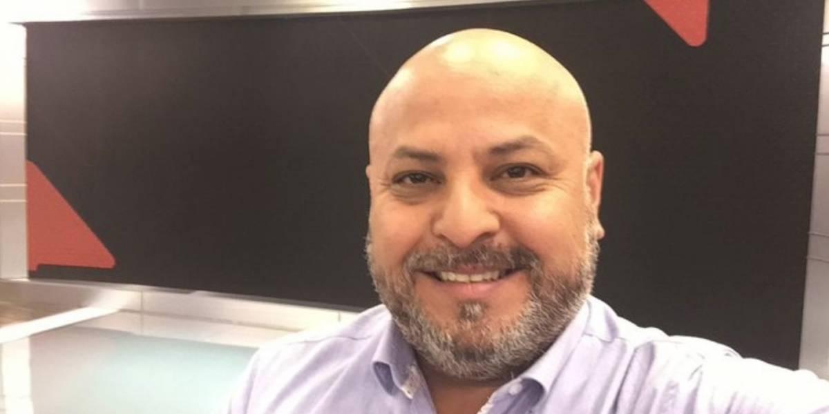Periodista de Canal 13 Miguel Acuña dio positivo por coronavirus