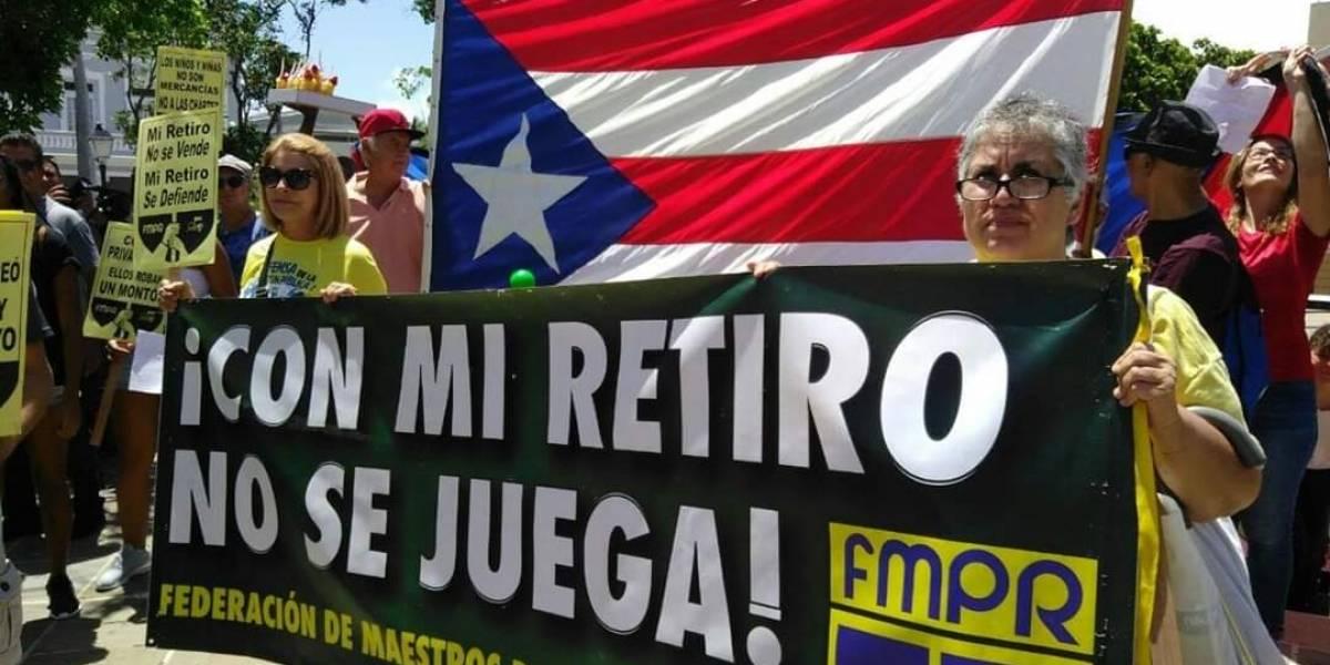 Convocan manifestación para exigir aprobación de proyecto que garantiza pensiones
