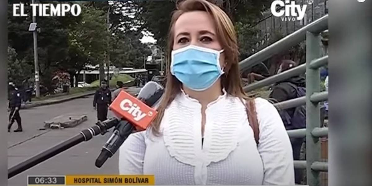 Enfermera volvió a trabajar después de estar más de 50 días aislada por coronavirus en Bogotá