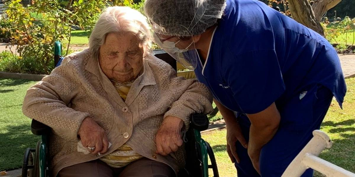 Para tener fe: adulta mayor chilena de 111 años se recupera de coronavirus