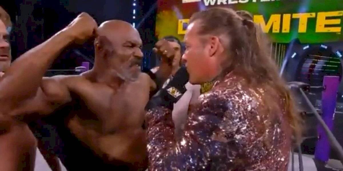 Se arma bronca entre Mike Tyson y Chris Jericho