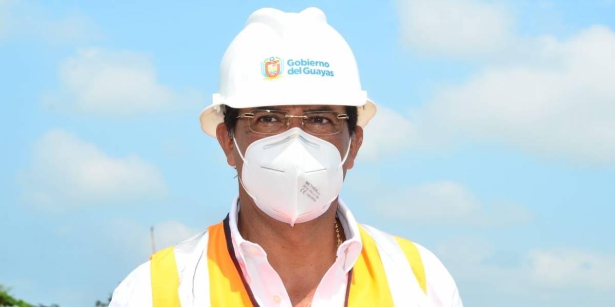 Prefecto Morales niega participación del Gobierno del Guayas en protesta contra el régimen