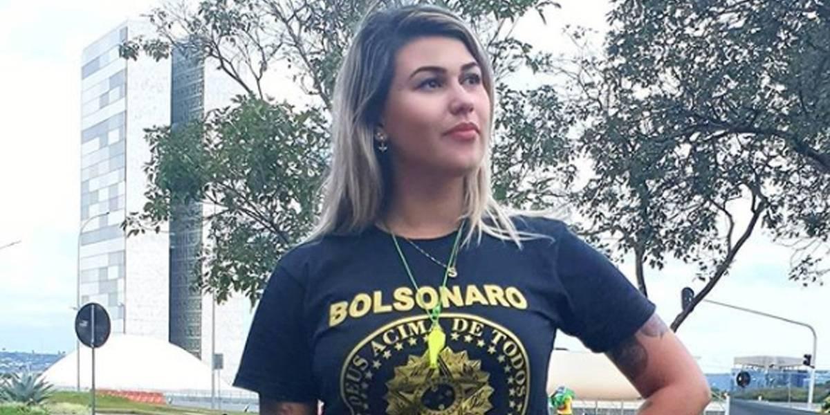 Ativista Sara Winter é presa pela PF em Brasília