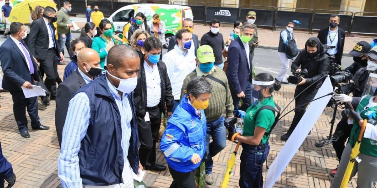 Con el relajamiento de la cuarentena, los vendedores informales de Bogotá recibirán ayudas