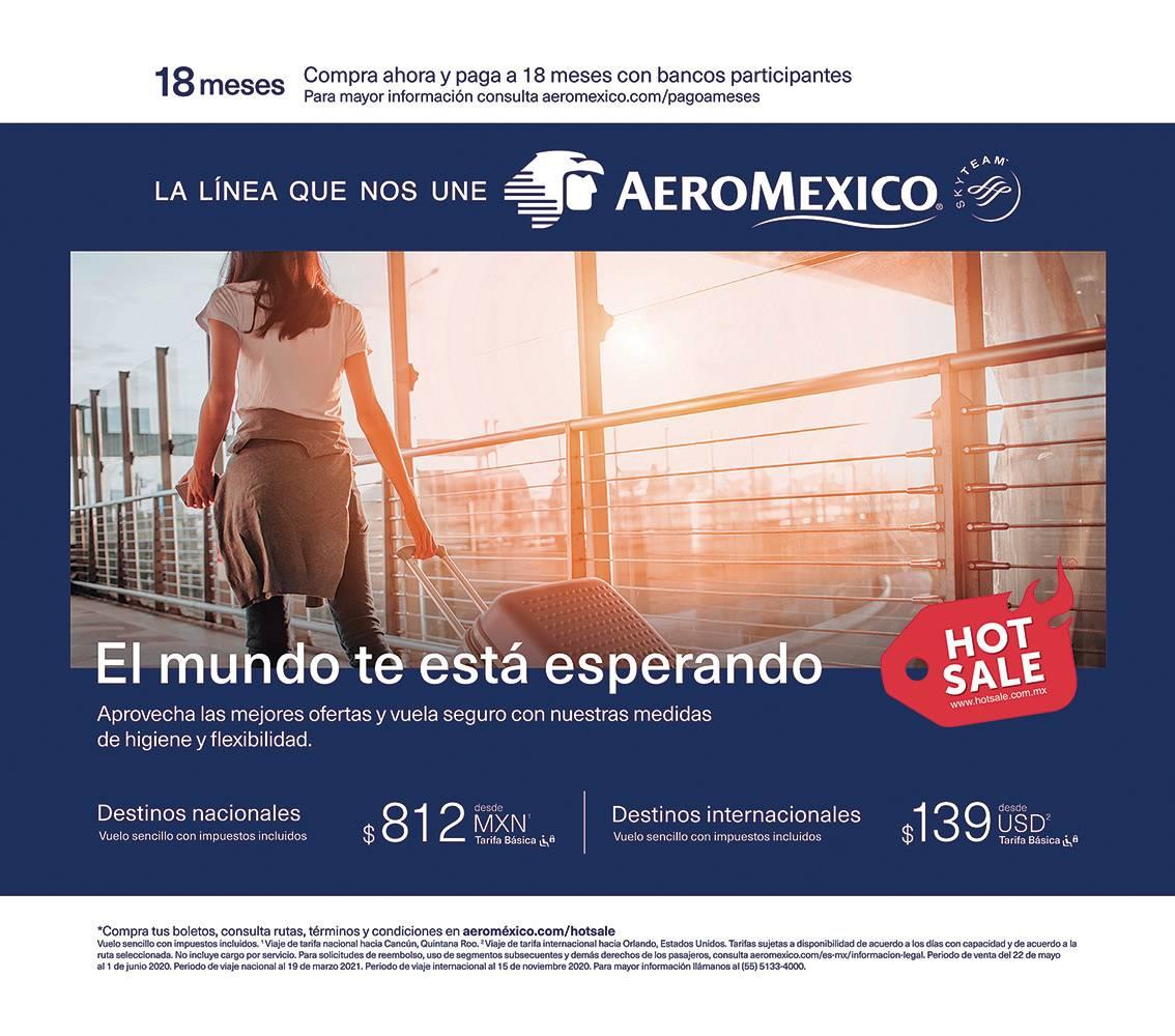 Anuncio Aeromexico edición CDMX del 28 de mayo del 2020, Página 05