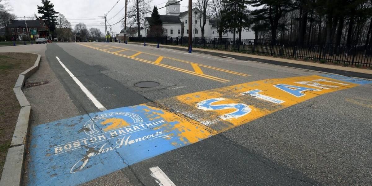 Cancelan por primera vez el Maratón de Boston