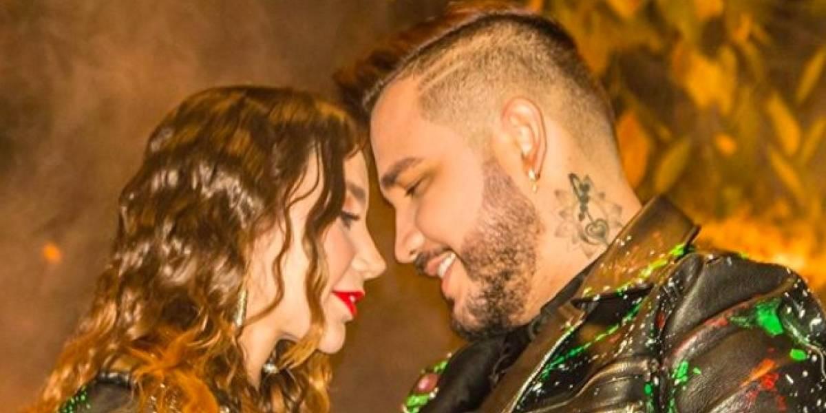 Plataforma de concierto de Paola Jara y Jessi Uribe colapsa, pero logran sacar adelante el evento