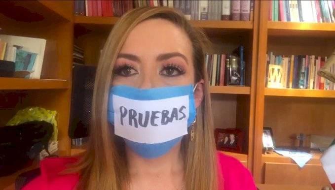 La diputada panista compartió su malestar en redes sociales