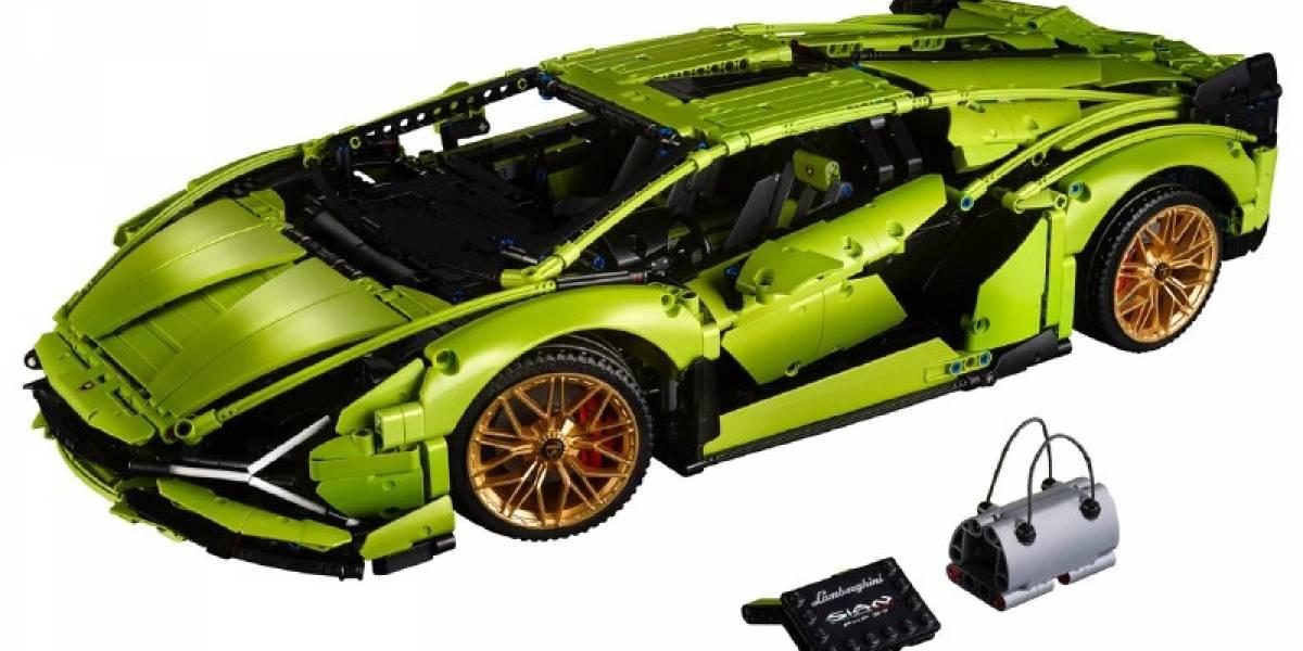 Un Lamborghini Sián FKP 37 de casi 4 mil piezas es la nueva joya del Grupo LEGO