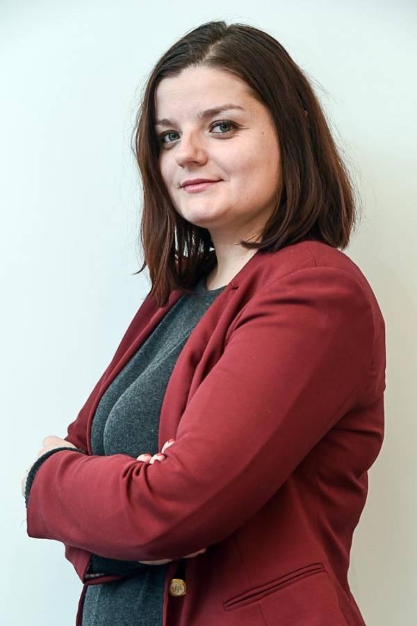 Nikoleta Arnaudova oficial superior de políticas y comunicaciones en Smoke Free Partnership