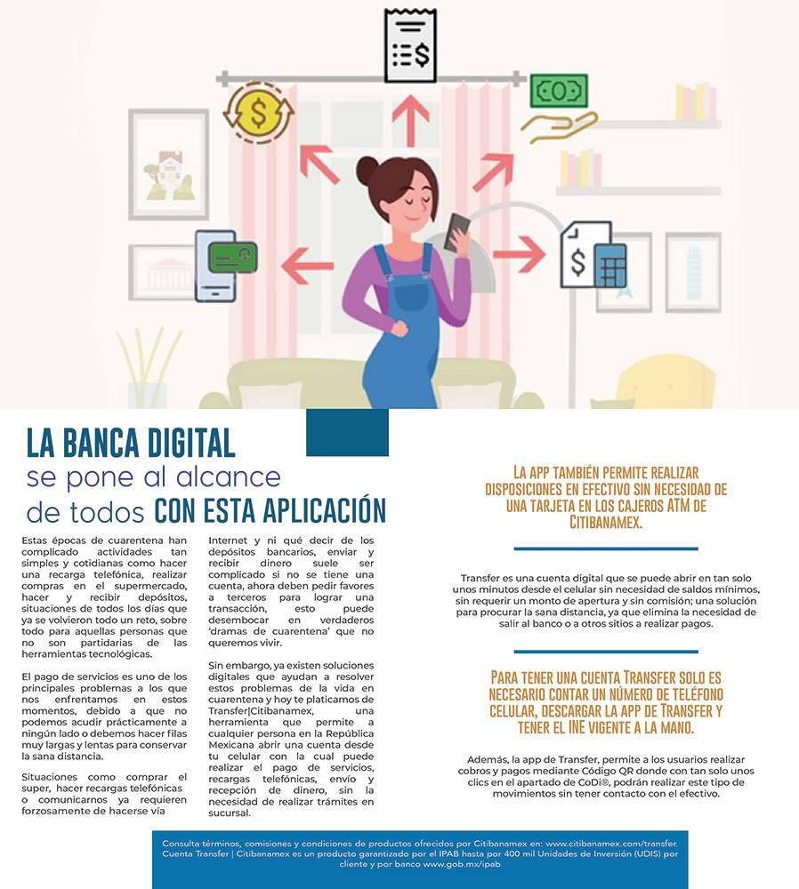 Anuncio Banca Digital edición CDMX del 29 de mayo del 2020, Página 03