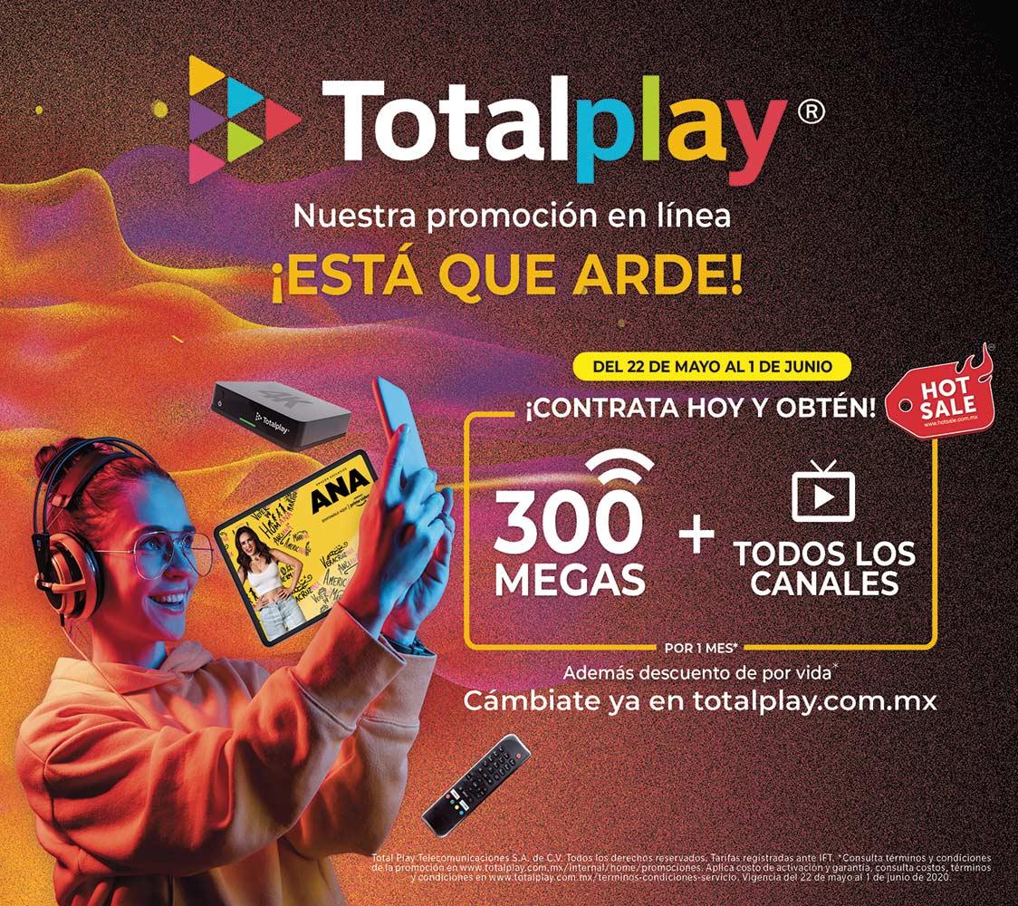 Anuncio Total Play edición CDMX del 29 de mayo del 2020, Página 07