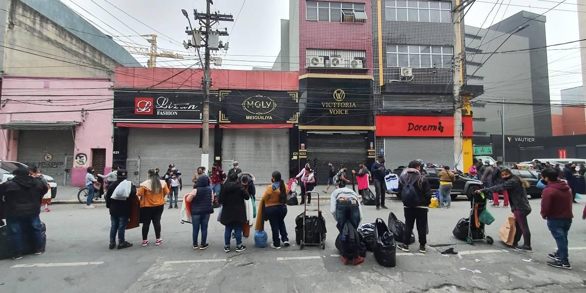 Comércio na cidade de São Paulo reabre a partir de quarta