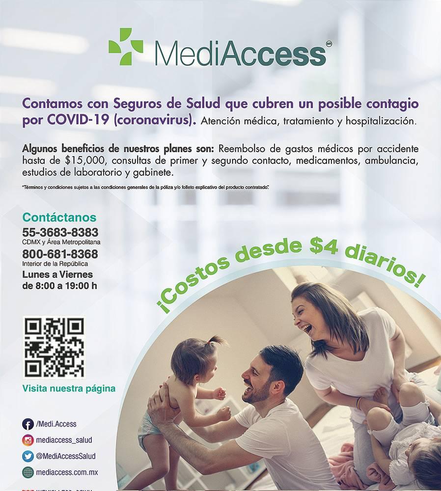 Anuncio Medi Access edición CDMX del 29 de mayo del 2020, Página 16