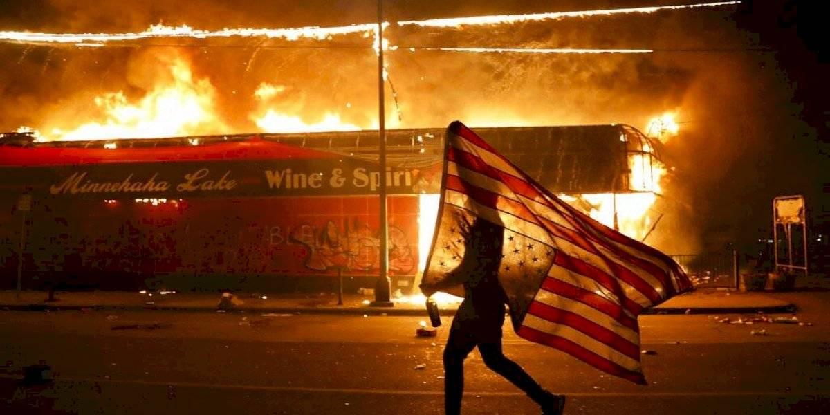 Trump anuncia que Estados Unidos considerará como un grupo terrorista a ANTIFA, un grupo radical de izquierda