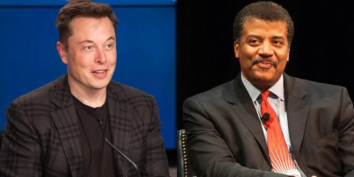 Donde pone su boca, allá va su dinero: Neil DeGrasse Tyson sobre Elon Musk