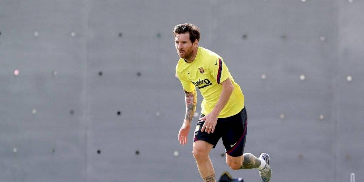 Messi podría perderse el reinicio de la liga española por una pequeña lesión