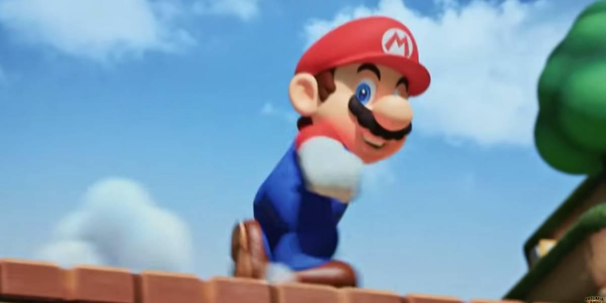 """¡Se filtró una imagen! Así luce el primer parque """"Super Nintendo World"""" que se iba a abrir en Japón"""