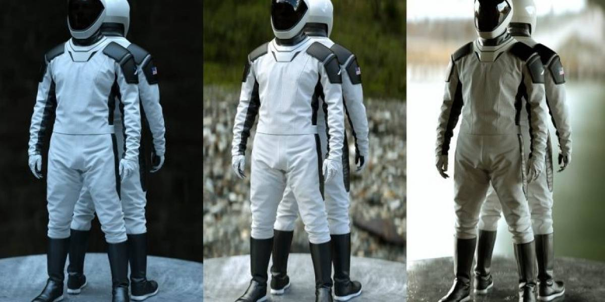 Atuendo a la moda: Elon Musk reveló el tiempo que tardó en el diseño de los trajes espaciales de SpaceX