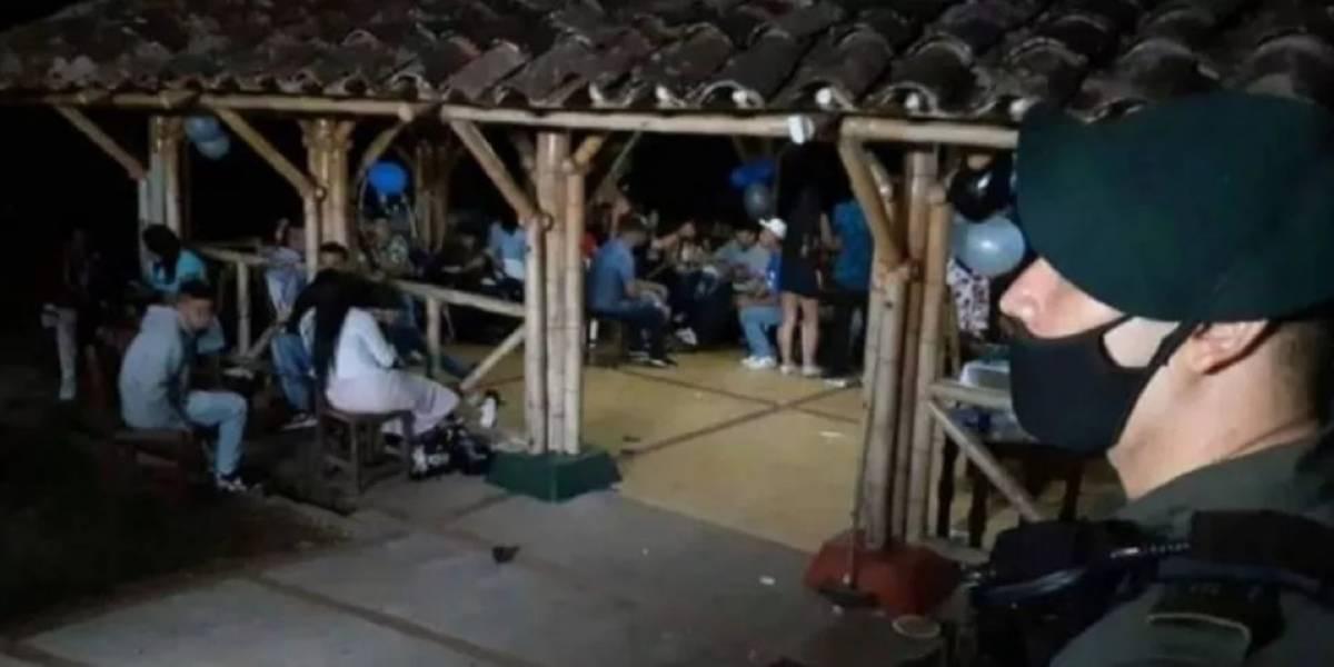 Fiesta clandestina de 15 años se convirtió en foco de coronavirus en el Quindío