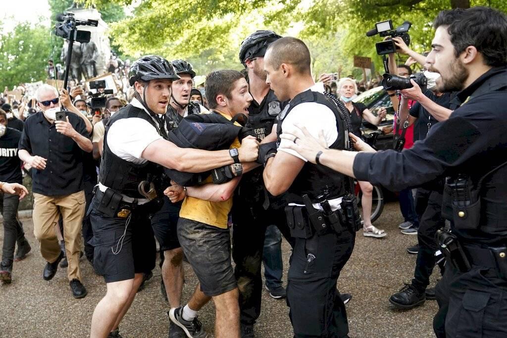 Casa Blanca protestas