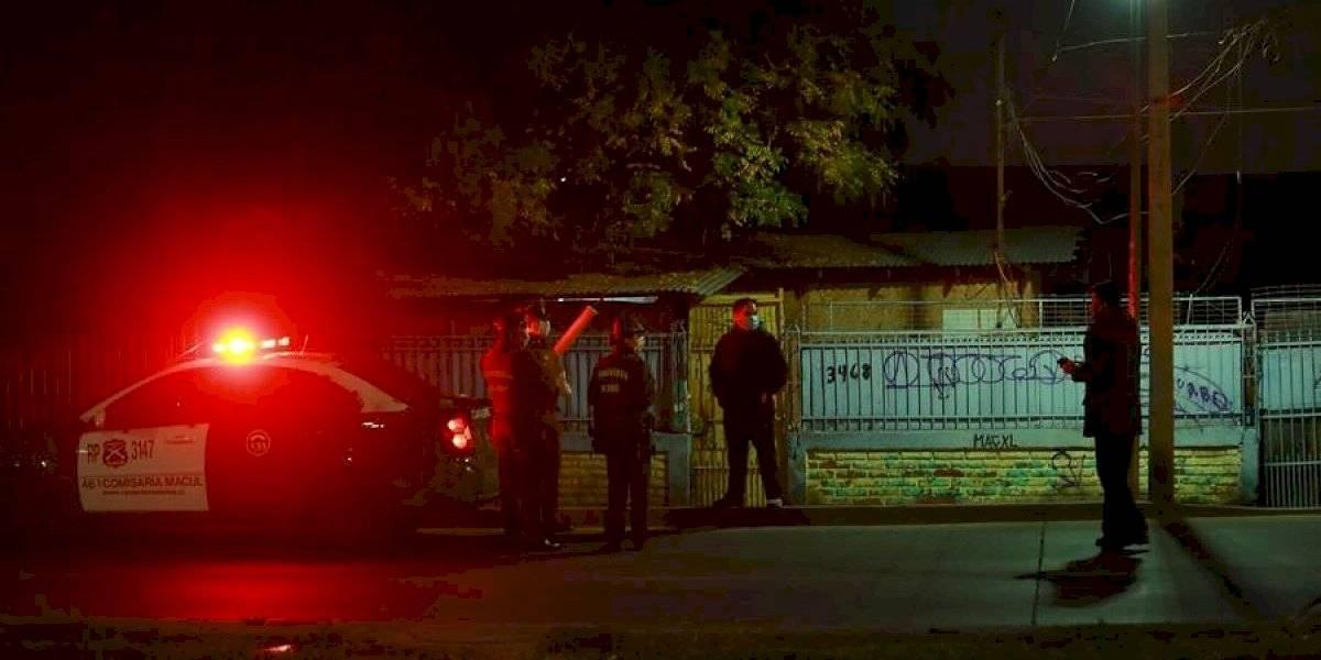 Carabineros halló cuerpo de un hombre que era covid-19 positivo al interior de un cité en Macul