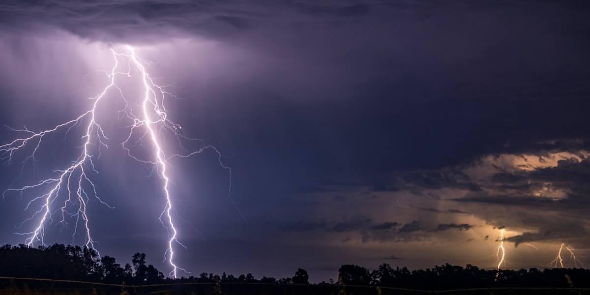 Atención: anuncian probables tormentas eléctricas en el norte y centro del país
