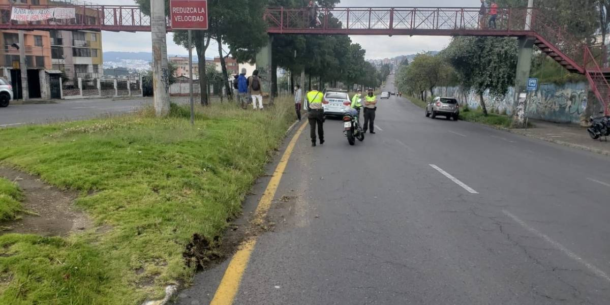 Pese a restricción vehicular en Quito, se reportaron seis accidentes de tránsito