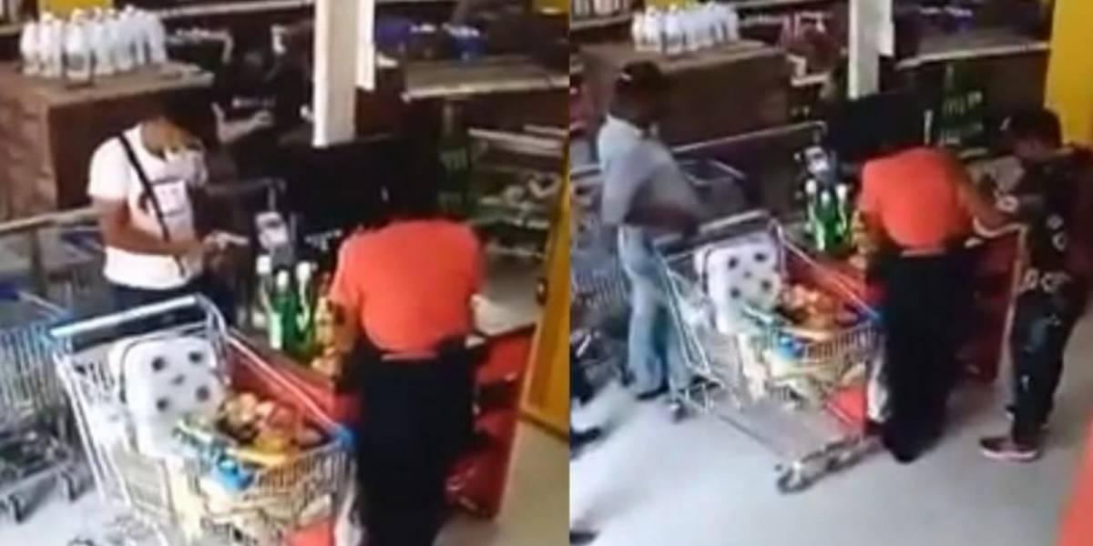 Cero y van dos: Volvieron a asaltar a la misma tienda de Justo & Bueno