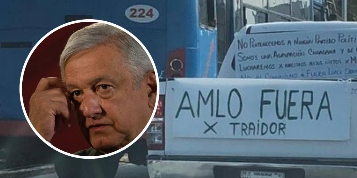 """Caravanas """"anti-AMLO"""" toman las calles de CDMX y otras ciudades del país"""