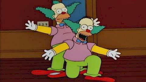 Los Simpson Krusty Homero