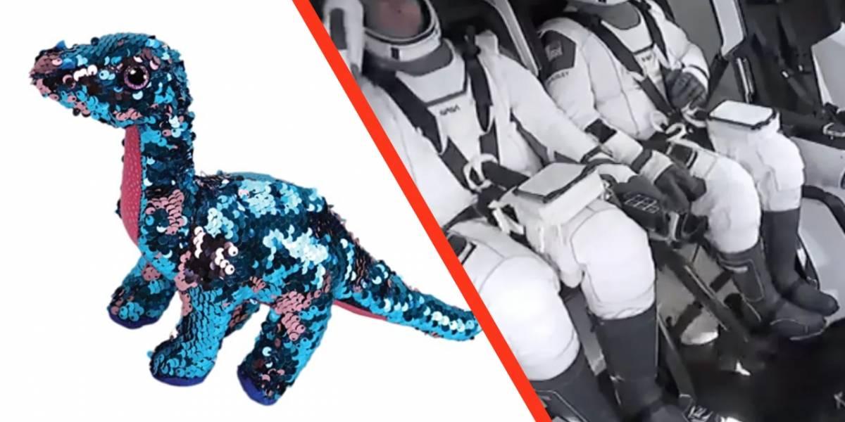 SpaceX: llevaron un dinosaurio al espacio y esta es la razón