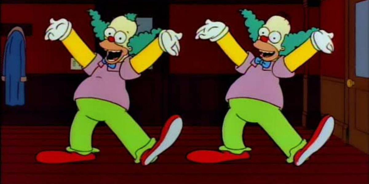 Los Simpson: originalmente Homero iba a ser Krusty el Payaso